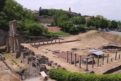 Volterra Roman Theatre Italy