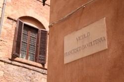 Volterra Street Sign Italy