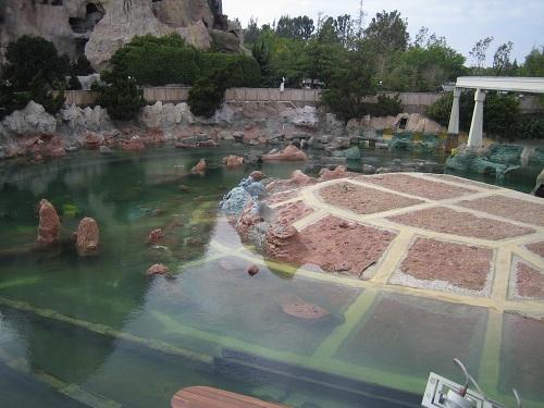 1996 Disneyland Submarine Renovation - Lagoon