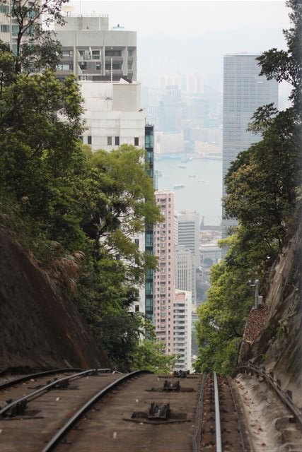 Peak Tram Hill Dropoff Hong Kong