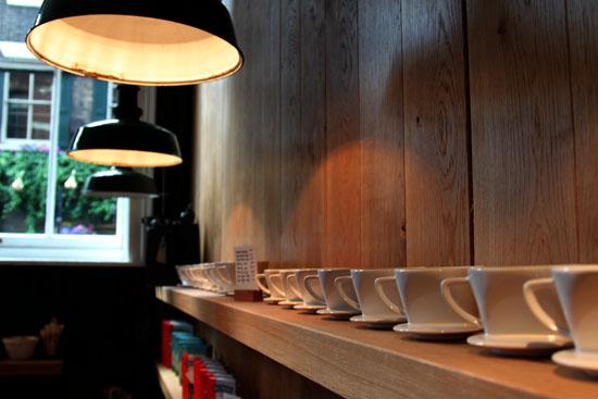Monmouth Coffee at Borough Market