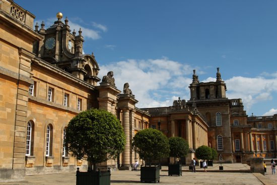 Blenheim Palace England UK