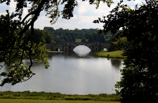 Blenheim Palace Grounds Oxford England UK