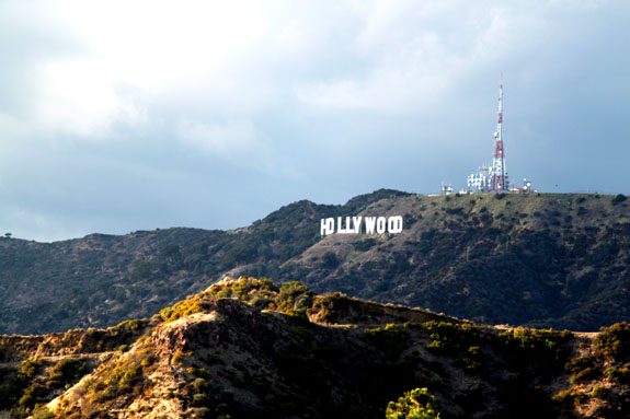 Hollywood Sign from Gritffith Observatory