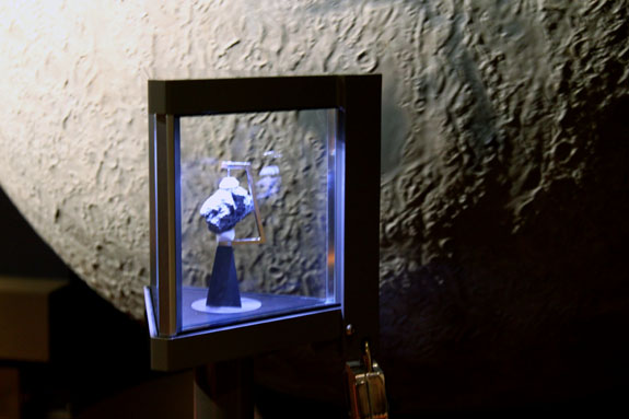 Griffiths Observatory Moon Rock
