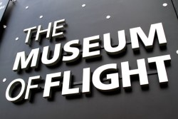 The Museum of Flight at Boeing Field in Seattle