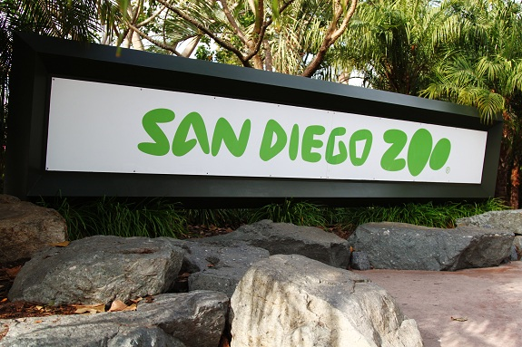 San Diego Zoo Sign