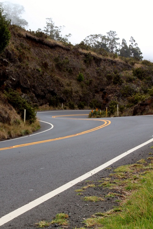 Twisty Haleakala Highway Maui