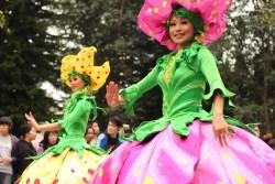 Flower Dresses Hong Kong Disneyland Parade