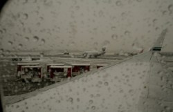 Tarmac View in the Winter