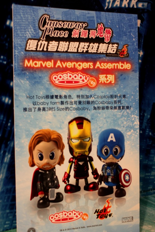 Marvel Avengers Assemble in Causeway Bay Hong Kong