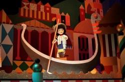 HK Disney Small World Gondalier