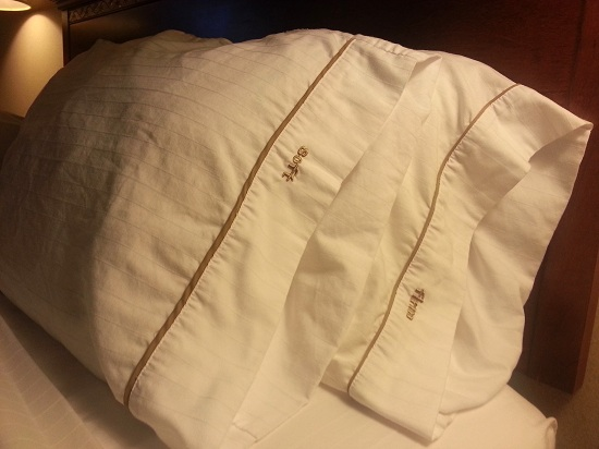Choice of Soft and Firm Pillow at Holiday Inn Express