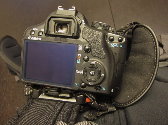 Capture Camera Clip In Use
