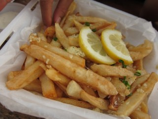 Tita's Grill Garlic Fries North Shore Oahu Hawaii