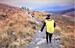 ultra trail scotland 2017 descenso goatfell fotos mayayo