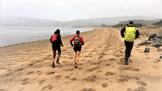 ultra trail scotland 2017 fotos mayayo playa brodick