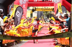 Sage Canaday 3º en meta