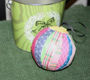 Avery Lane Blog paper decoupage ornament tutorial