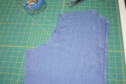 Avery Lane Blog upcycle tutorial mens dress shirt into girl's  tunic16