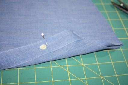 Avery Lane Blog upcycle tutorial mens dress shirt into girl's  tunic17