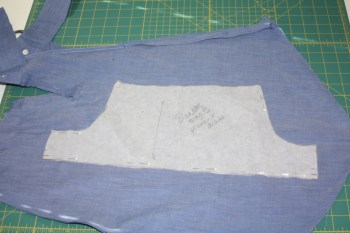 Avery Lane Blog upcycle tutorial mens dress shirt into girl's  tunic9
