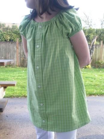 Avery Lane Blog: dress shirt to peasant dress tutorial