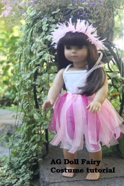 18 inch doll fairy costume tutorial AveryLaneSewing