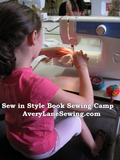 Sew in Style book sewing camp