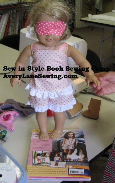 sew in style book Sewing Camp It's a Sleepover