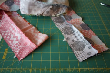 Doll Quilt Tutorial Jelly Roll Race 11