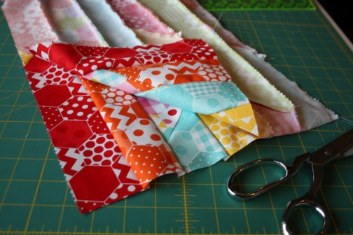 Doll Quilt Tutorial Jelly Roll Race 19