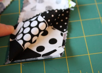 Doll Quilt Tutorial Jelly Roll Race 8