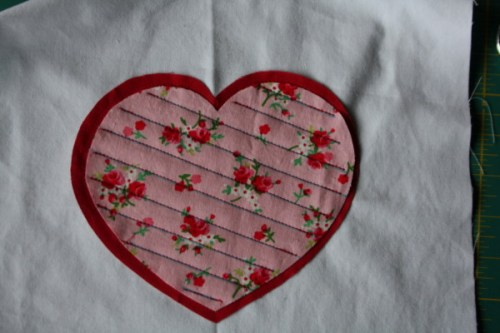 Faux Chenille Valentine Heart Pillow Sewing Tutorial on AveryLaneSewing.com  6