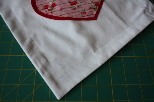 Sewing Tutorial Faux Chenille Heart Appliqué AveryLaneSewing.com 8