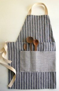Unisex Apron image from PurlBee.com (Beginner Project)