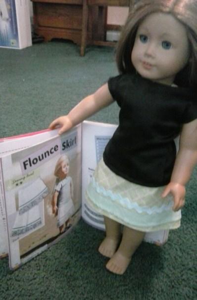 Annie D Flounce Skirt