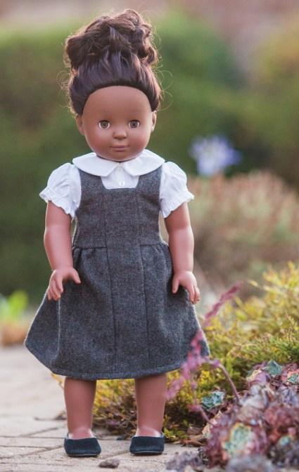 jumper dress doll days pattern book blog tour