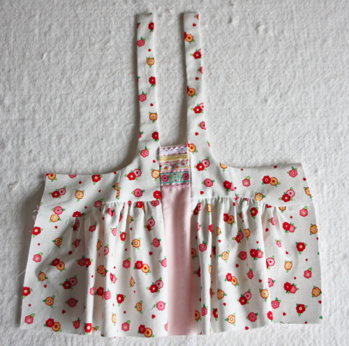 1 Doll Days Modern Jumper pattern sew along 1