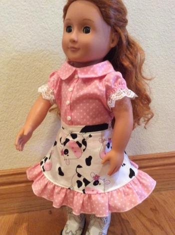2 Doll Days Skirt Challenge