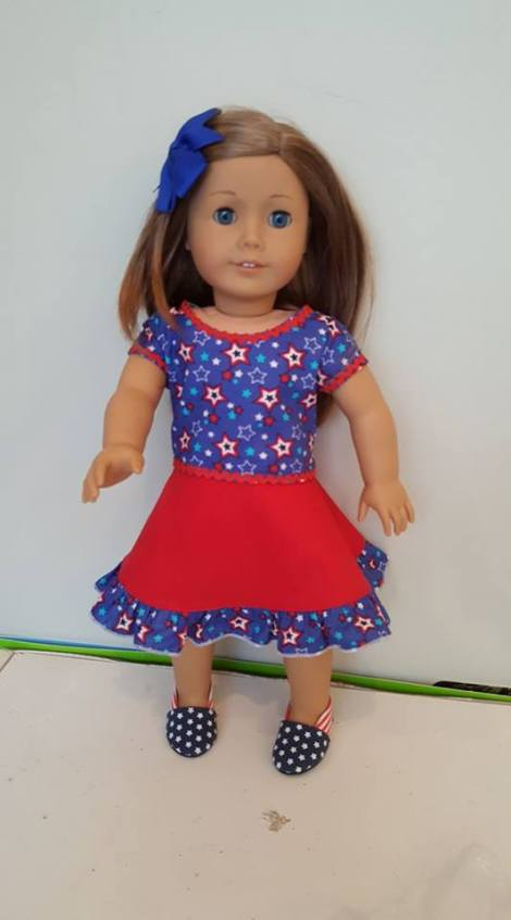 23 Doll Days Skirt Challenge