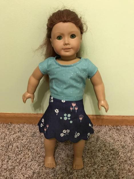 30 Doll Days Skirt Challenge