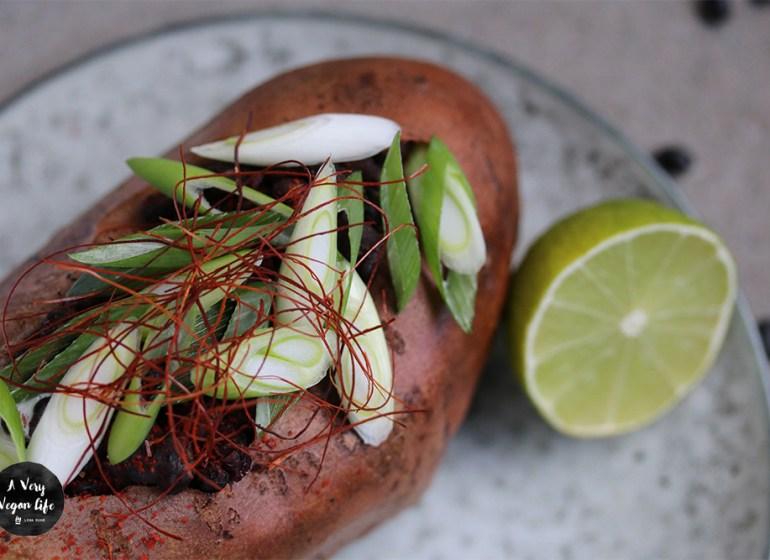 Rezepte für gefüllte Süßkartoffel