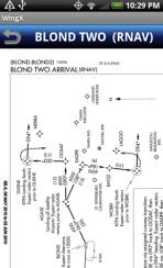 WingX Charts - Departure Procedure