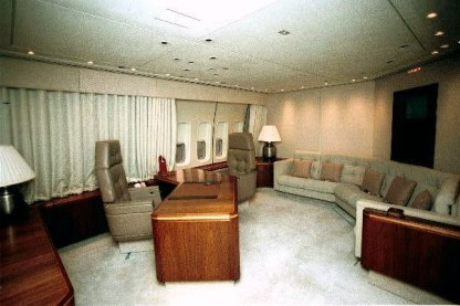 Oval Office inside Air Force One