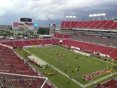 Raymond James Stadium, home of Tampa Bay Buccaneers, South Florida Bulls, page 7