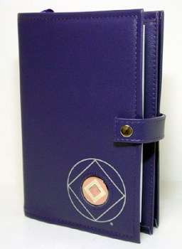 Narcotics Anonymous NA Symbol Double Book Cover
