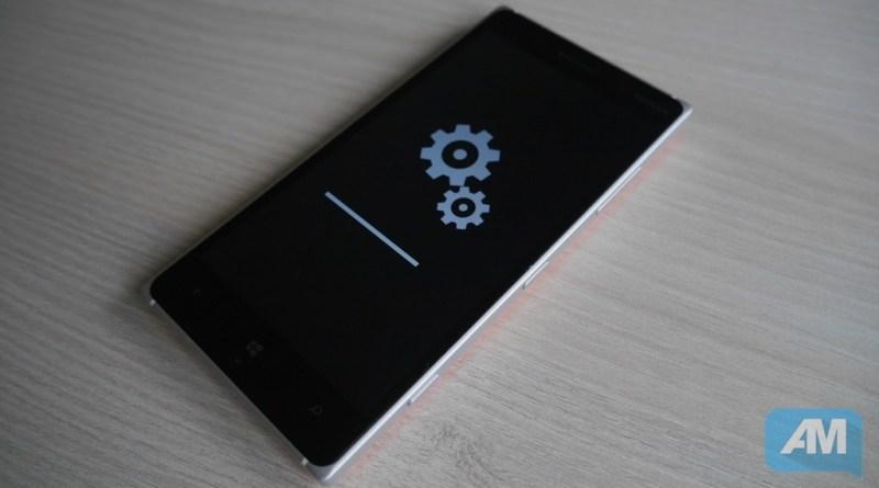 Réinitialisation Windows 10 Mobile