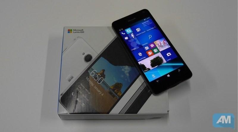Microsoft Lumia 650 boite