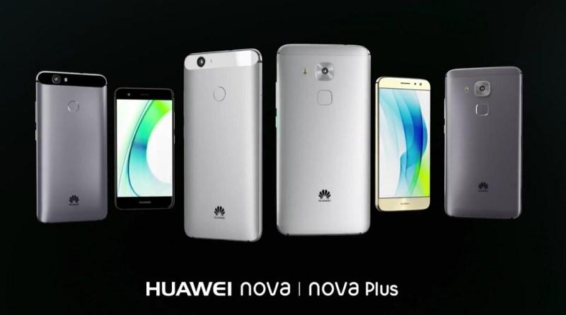 Huawei Nova et Nova Plus